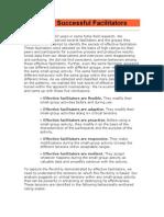 Secrets of Successful Facilitators
