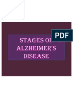 Stages of Alzheimer's Disease