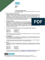 LCCI - Series Exam Time Table 2011-2012_ASIA