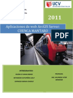 Trabajo Arc Gis Server