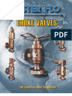 Master Flo Choke Valve Catalogue