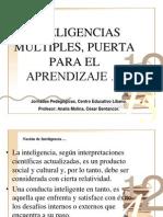 Las Inteligencias Multiples Ponencia 27.10.07