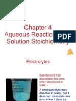 CH 4 Aqueous Reactions