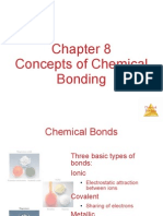 CH 8 Chemical Bonding