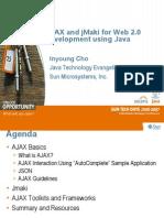 Ajax Frameworks Inyoungcho Pune