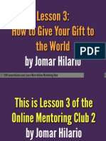 How to Craft a Hero Gift PDF Jomar Hilario OMC2