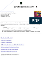 Database Developer's Guide With Visual C++ 4 Second Edition