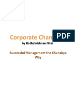 Corporate Chanakya by Radhakrishnan Pillai