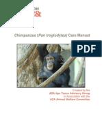 Chimpanzee Care Manual 2010