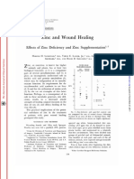 Zinc and Wound Healing