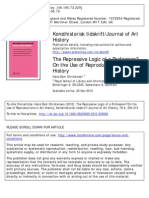 Hans Dam Christens En - The Repressive Logic of a Profession. on the Use of Reproductions in Art History, (2010)