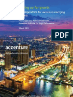 Five Imperatives for Success in Emerging Markets Accenture