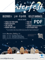 US ARMY MWR PRESENTS ~ WINTERFEST on Kelley Barracks