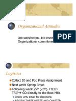 Lecture 6 - Attitudes