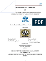 Project Report on Lcv Icv Product of Tata Motor