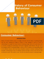 A Brief History of Consumer Behaviour