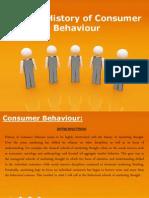 A Brief History of Consumer Behaviour