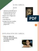 Presentacion Final Exploracion Cabeza.....