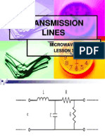 Microwaves Lesson Transmission Lines
