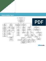 Diabetes Mellitus Type 2 Schematic Diagram