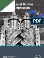Advantages of Oil-Free Screw Compressors