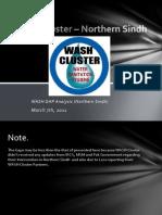 Northern Sind Gap Analysis 7 March 2011
