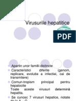Virusurile hepatitice generala