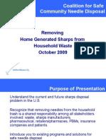 Needle Disposal Presentation