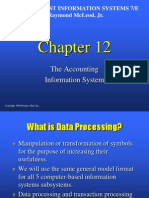 12. the Accounting Information System