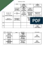 Orar Psihologie 2011-2012 Sem1 - Nivel Licenta