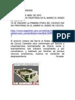 PROYECTO EL RODEO Arquibitar Arquitectos