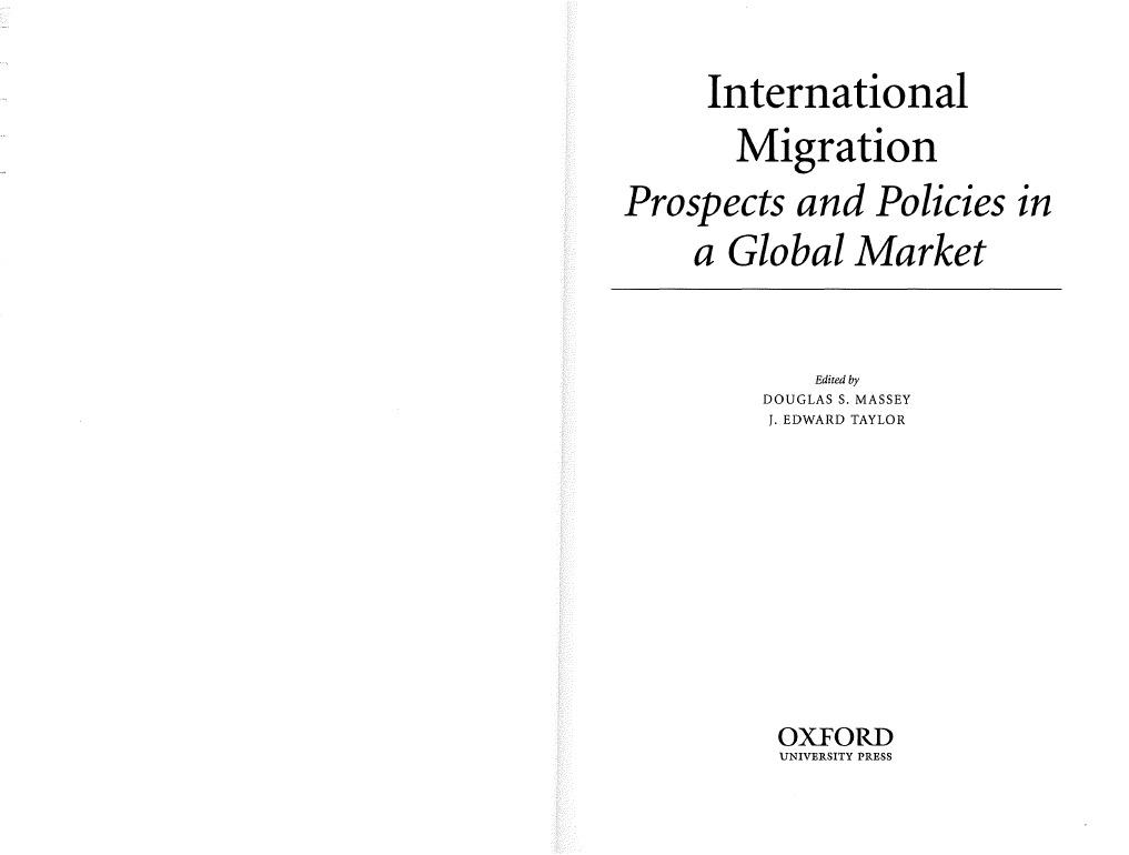 International migration pdf fandeluxe Choice Image