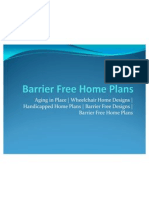 Barrier Free Home Plans