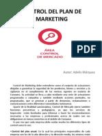 Control Del Plan de Marketing...