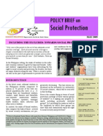 Brief on Social Protection Philippines