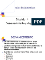 Wireless Clase 4 - Desvanecimiento y Dispersion