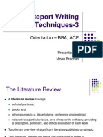 Report Writing Techniques-3 New