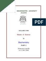 2007-08 Part I M.sc.-Biochemistry