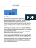 Takaful Insurance Report