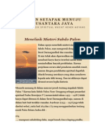 Jalan Setapak Menuju Nusantara Jaya