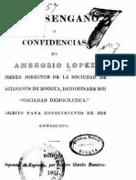 López, El desengaño o confidencias de Ambrosio López, 1851, (BN, P, 3, 7)