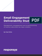 Responsys Email Engagement Study 2011