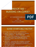 Foreign Aid Blessing or Curse