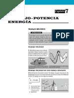 Capitulo 7 Trabajo Potencia Energía (Incluye Test)