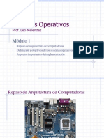 Sistemas Operativos 1 Intro