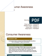 Consumer Awareness Index