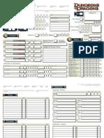 Shados 4e DnD Character Sheet