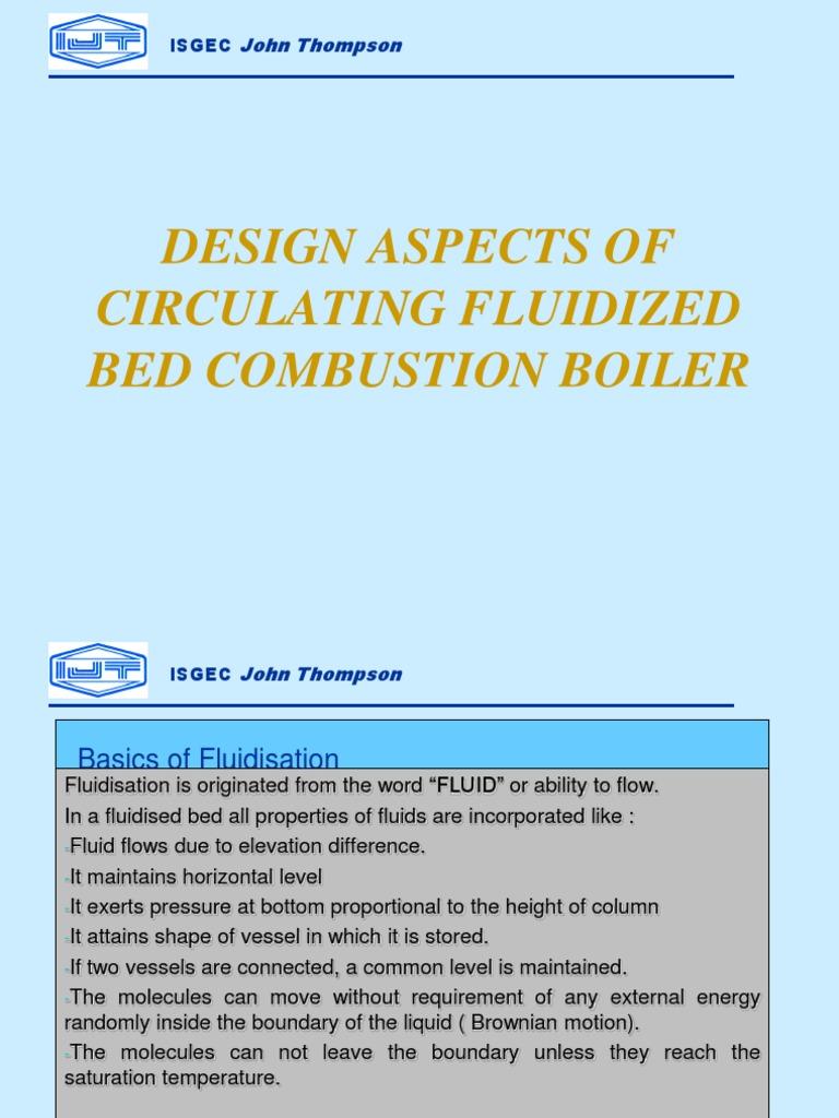CFBC Design | Fluidization | Boiler