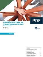 Manual Práctico de Diagnóstico para un Voluntariado Eficaz