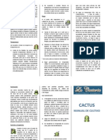 Manual de Cultivo de Cactus